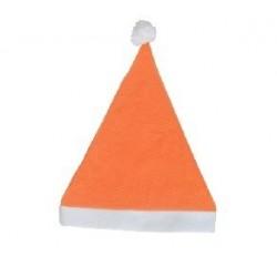 Gorro papa noel naranja barato(varios packs)