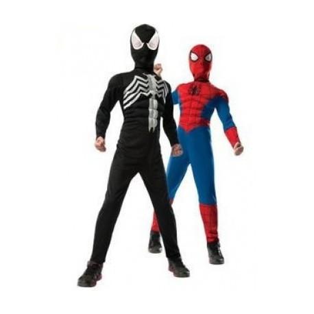 Disfraz Ultimate Spiderman reversible con Venom talla 5-7 años para ... 3599c937c7e