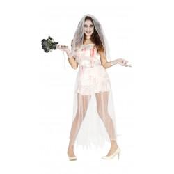Disfraz novia fantasma para mujer Halloween