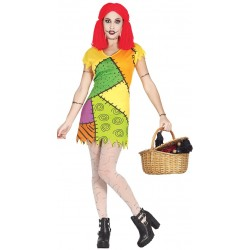 Disfraz sally rag doll similar a sally pesadilla talla l