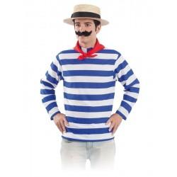 Disfraz gondolero veneciano para hombre