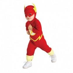 Disfraz flash para bebe talla 1 a 2 años infantil