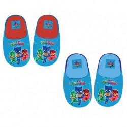 Zapatillas pj mask azul claro rojo para niño