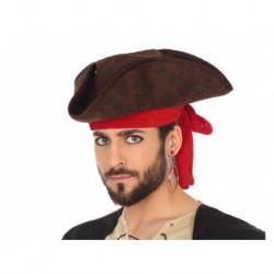 Sombrero pirata con cinta