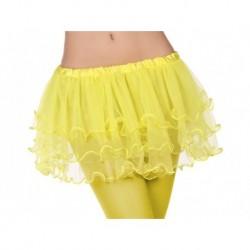 Tutu amarillo para mujer talla unica adulto