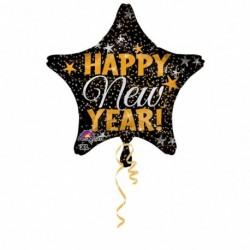 Globo fin de año happy new year 45 cm 18