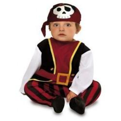 Disfraz pirata bucanero para bebe