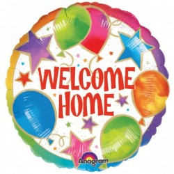 GLOBO WELCOME COLORES 18 45 CM HELIO O AIRE