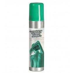 Maquillaje en espray verde 75 ml  para pelo o cuerpo
