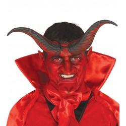 Cuernos de demonio de 20 cm baratos para halloween