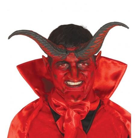 Cuernos de demonio de 20 cm baratos para halloween - Articulos halloween baratos ...