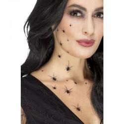 Tatuajes de arañas temporales calcamonias