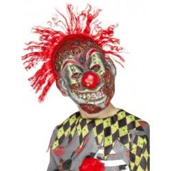 Mascara de payaso asesino para niño
