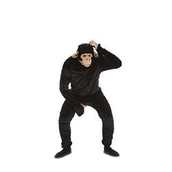 Disfraz chimpance deluxe para hombre talla l