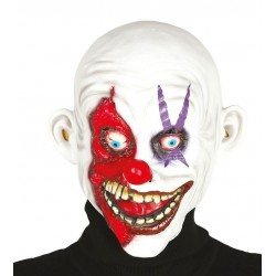 Mascara payaso sonriente latex
