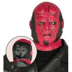 Careta demonio rojo mascara similar hellboy