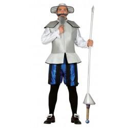 Disfraz caballero errante talla 52-54 don quijote