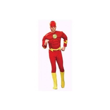 DISFRAZ THE FLASH MUSCULOSO