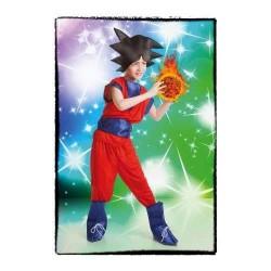 Disfraz goku super guerrero ninja 3-5 años infanti