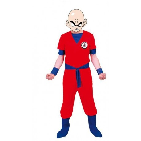 DISFRAZ GUERRERO KRILLIN KRILIN DRAGON BALL