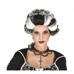 Peluca marquesa vampira noble 4903 epoca