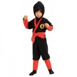 Disfraz ninja bebe 1-2 años infatil 885295 negro r
