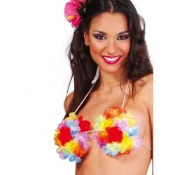 Sujetador flores hawaiano 16432 gui