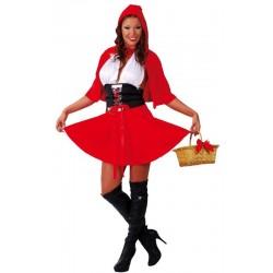 Disfraz caperucita roja mujer adulta 80492 gui