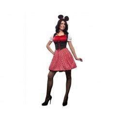 Disfraz ratoncita mujer minnie talla m-l