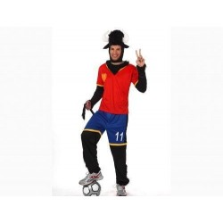 Disfraz toro futbolista seleccion española 10524