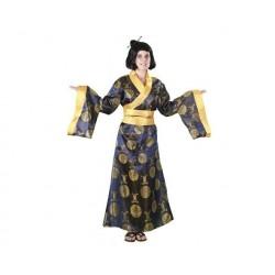 Disfraz china lujo talla m-l adulta orienta