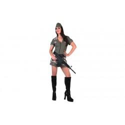 Disfraz chica militar soldado 706069