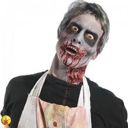 Peluca zombie man hombre canosa s1435 corta