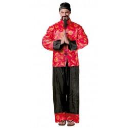 Disfraz chino mandarin adulto oriental 80666