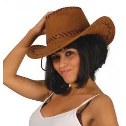 Sombrero vaquero ante marron oeste 13070