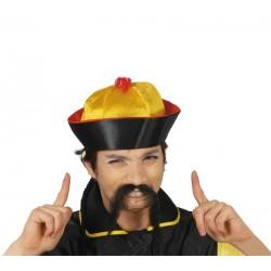 Sombrero chino de tela oriental 13060 gui