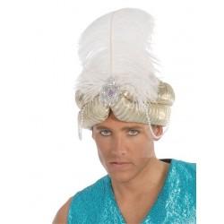 Sombrero maraja oro arabe paje 13812 gui