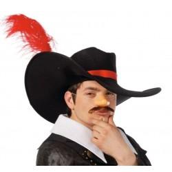 Sombrero espadachin mosquetero frances 13929