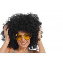 Gafas hippie pasta grandes amarillas 16231 gui