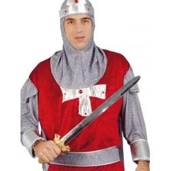 Espada metalizada 62 cm medieval 16141 gui