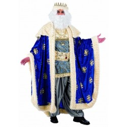 Disfraz de rey mago melchor lujo profesional