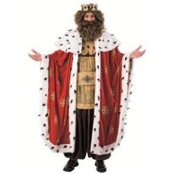 Disfraz rey mago gaspar super lujo profesional
