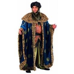 Disfraz rey mago baltasar super lujo profesional