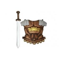 Coraza y espada guerrero 101409