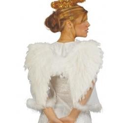 Alas blancas plumas angel 50 cm 16885 gui
