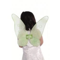 Alas campanilla mariposa verde 46 cm gu