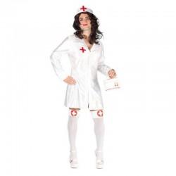 Disfraz enfermera con pechos hombre despedidas