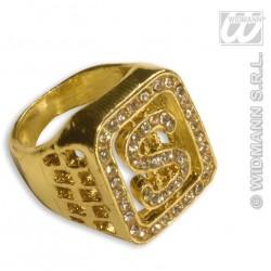 Anillo dolar  diamantes