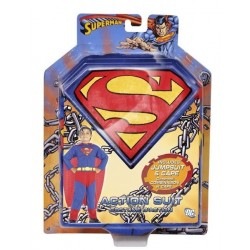 DISFRAZ SUPERMAN ACTION SUIT 8-10 AÑOS 5255
