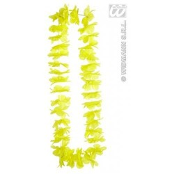 Collar hawaiano amarillo 9124e